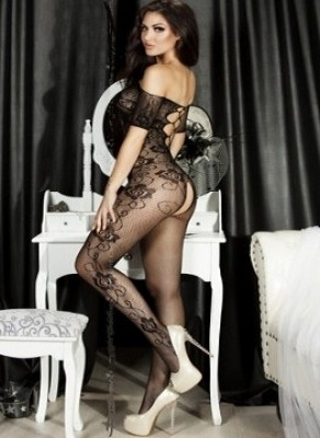 Slika: BLACK BODYSTOCKING